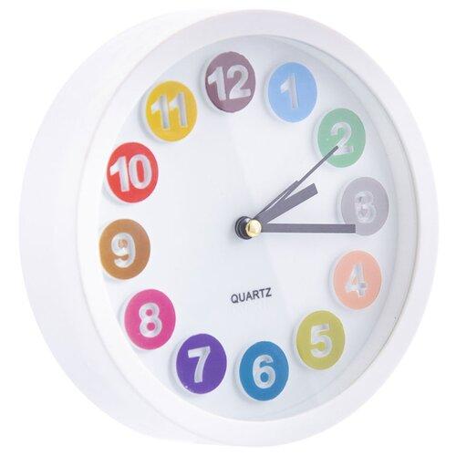 Часы настольные Русские подарки 60639 белый