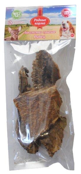 Лакомство для собак Родные корма Рубец говяжий, 40 г