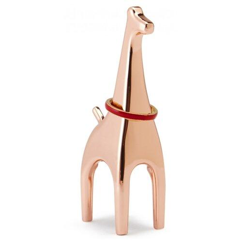 Подставка для колец Umbra Anigram жираф, медь подставка для колец umbra anigram медь