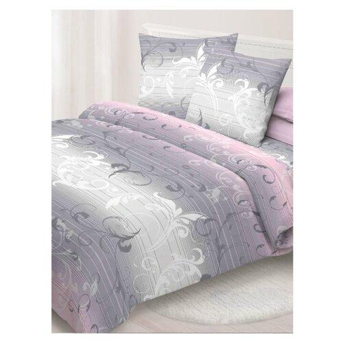цена Постельное белье 2-спальное макси Спал Спалыч Жаккард, бязь серый/розовый онлайн в 2017 году