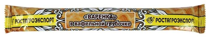 Трубочка РОСТАГРОЭКСПОРТ вафельная с вареной сгущенкой 18%, 70 г
