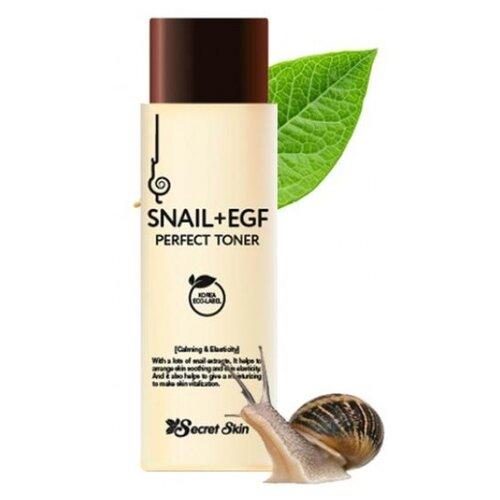 Secret Skin Тоник с экстрактом улитки Snail + Egf Perfect Toner 150 мл snail secret