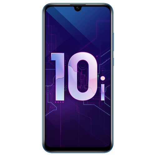 Смартфон Honor 10i 128GB синий (51093SKQ) смартфон honor 10i black