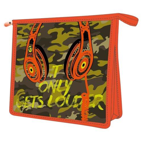 Феникс+ Папка для тетрадей Милитари А5 (48188) оранжевый/зеленый фото