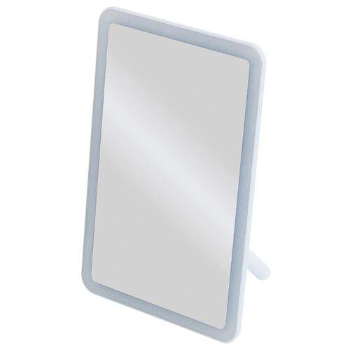 Купить Зеркало косметическое настольное Uniel TLD-591 с подсветкой белый