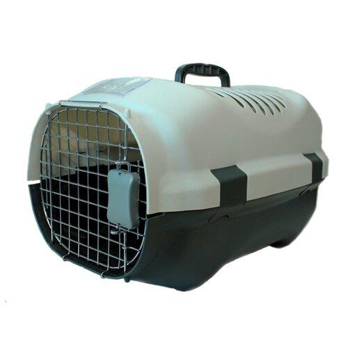 Клиппер-переноска для кошек и собак Родные места D02 52х37х31 см белый