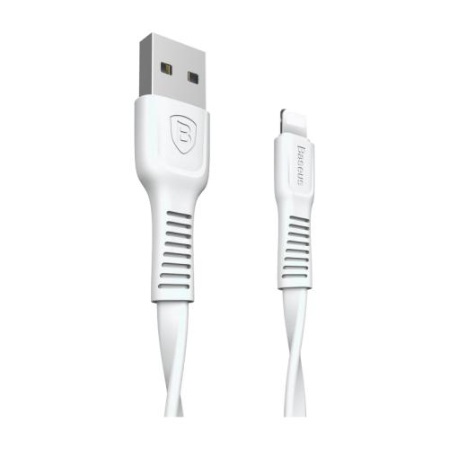 цена на Кабель Baseus Tough series USB - Lightning (CALZY) 1 м white