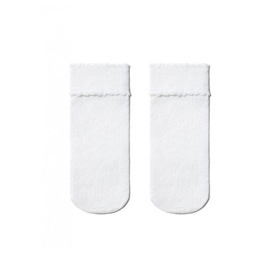 Фото - Носки Conte Elegant размер 22-24, белый комплект conte elegant conte elegant mp002xw13v8a