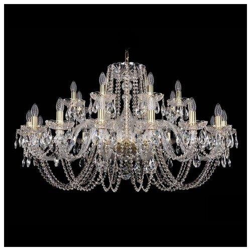 Люстра Bohemia Ivele Crystal 1402 1402/16+8/400/G, 960 Вт bohemia ivele crystal 1402 1402 16 400 g 640 вт