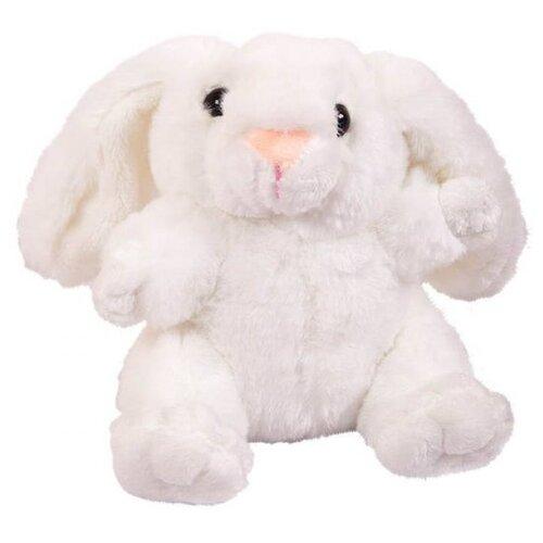 Мягкая игрушка ABtoys Кролик белый 17 см