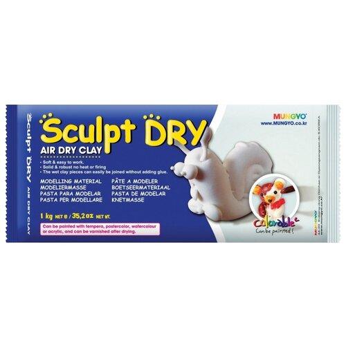 Полимерная глина MUNGYO Sculpt Dry белая, 1 кг, Глина  - купить со скидкой
