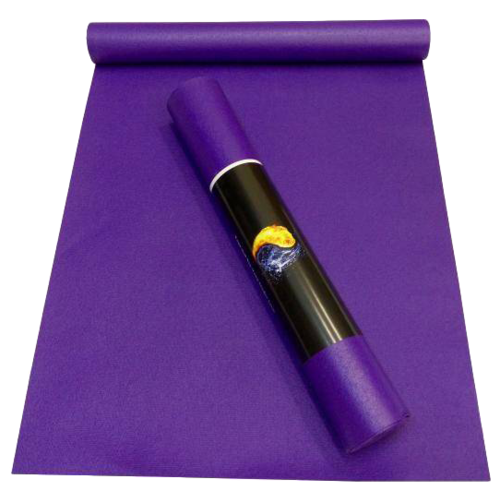 Коврик (ДхШхТ) 200х60х0.45 см AKO YOGA Yin-Yang Studio фиолетовый