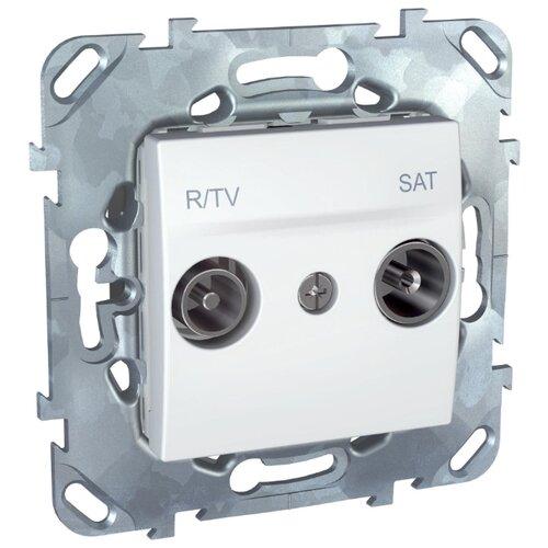 Телекоммуникационная розетка Schneider ElectricMGU5.455.18ZD UNICA, белый