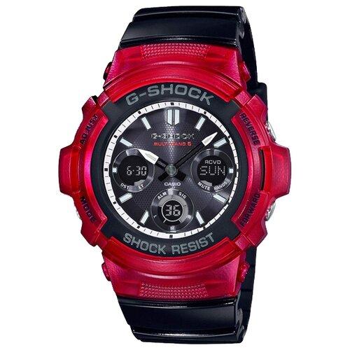 Наручные часы CASIO G-Shock AWG-M100SRB-4A casio часы casio ae 2100w 4a коллекция digital