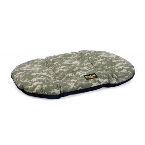 Лежак для собак PRIDE Милитари-1 71х54 см серо-зеленый