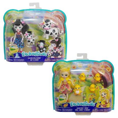 Купить Игровой набор Enchantimals Харвест Хилс с домашними зверушками, GJX43, Куклы и пупсы