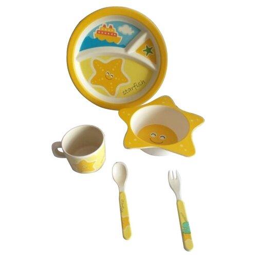 Комплект посуды Baby Ryan BF009 звездочка