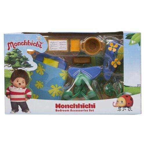 Игровой набор Silverlit Monchhichi Спальная комната с зеленым ковром 81528 игровой набор silverlit monchhichi вилли с кабриолетом 81513