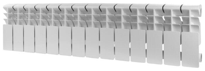 Радиатор секционный алюминий ROMMER Al Plus 200