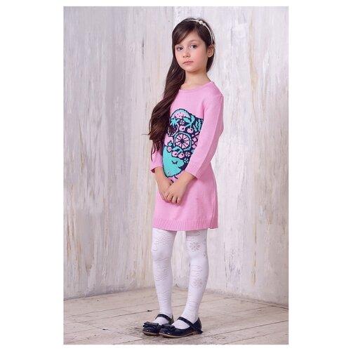 Купить Платье Веснушки размер 98, розовый/синий/зеленый, Платья и сарафаны