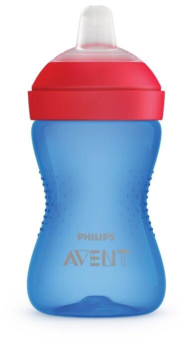 Philips AVENT Чашка-непроливайка с мягким носиком SCF802/01, 300 мл
