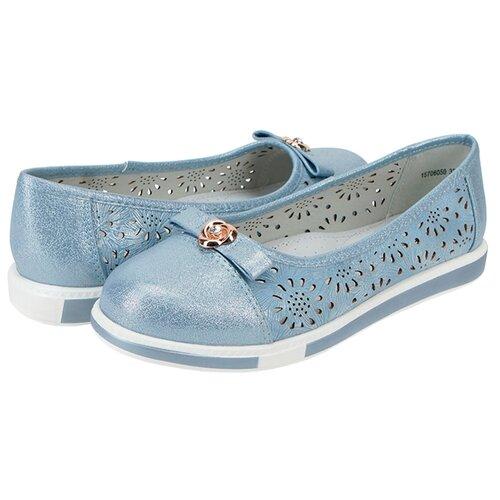 Балетки T.Taccardi размер 31, светло-голубойБалетки, туфли<br>