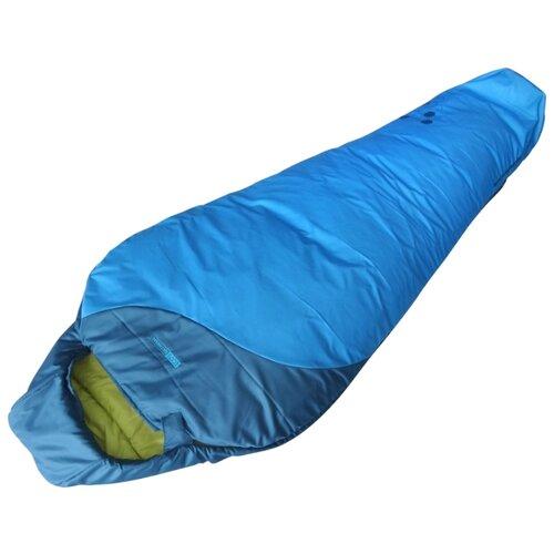 Спальный мешок ECOS Delta Ultralight 800 голубой с правой стороныСпальные мешки<br>
