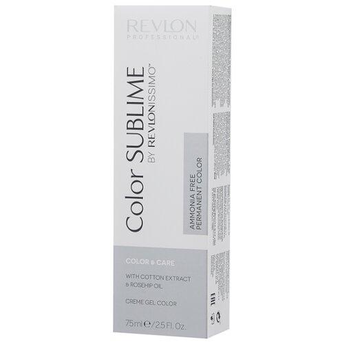 Revlon Professional Revlonissimo Color Sublime стойкая краска для волос, 75 мл, 7.3 блондин золотистый