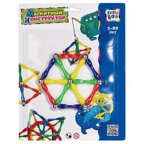 Купить Магнитный конструктор Kribly Boo Волшебное притяжение 1147 Шестиугольник, Конструкторы