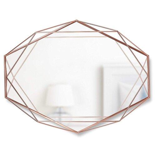 Зеркало Umbra Prisma 43х56.8 медь в раме декор для стен prisma медь