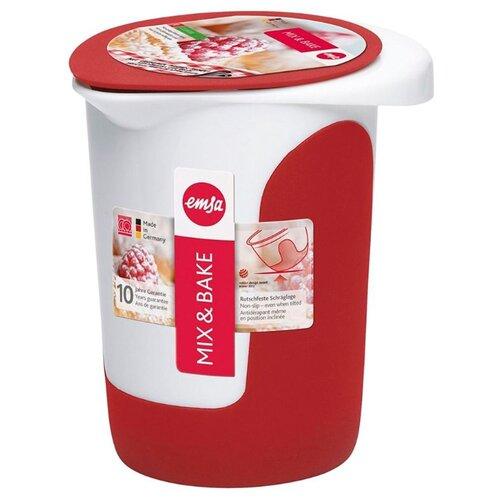 EMSA Стакан для смешивания Mix&Bake (508017) 1000 мл белый/красный