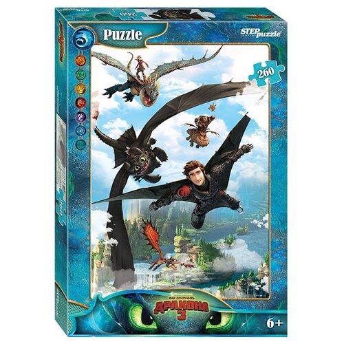 Купить Пазл Step puzzle DreamWorks Как приручить дракона - 3 (95081), 260 дет., Пазлы
