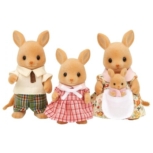 Купить Фигурки Sylvanian Families Семья кенгуру 3148/4766/5272, Игровые наборы и фигурки