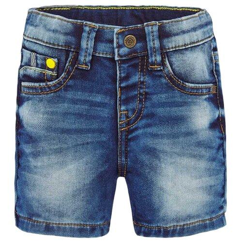 Купить Шорты Mayoral 1285 размер 86, 89 синий, Брюки и шорты