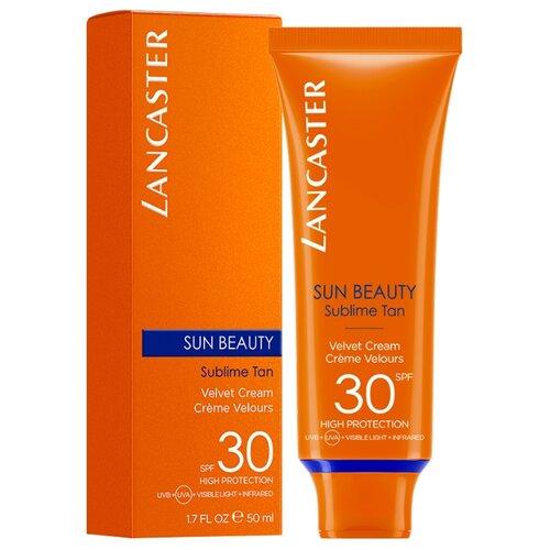 Крем для защиты от солнца Lancaster Sun Beauty Velvet Touch Cream Сияющий загар, SPF 30, 50 мл