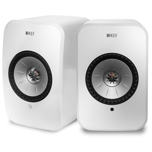 Купить Полочная акустическая система KEF LSX white