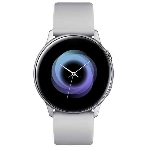 Часы Samsung Galaxy Watch Active серебристый лед часы samsung galaxy watch active sm r500n зелёный