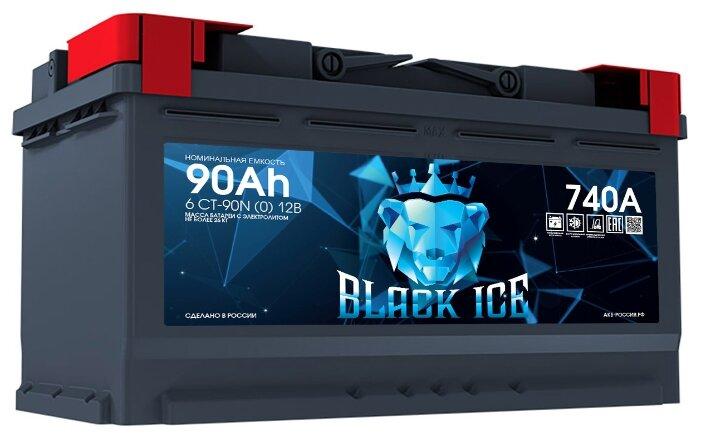 Купить Аккумулятор BLACK ICE 6СТ-90.0 ёмкость 90 Ач обратная полярность 0 - BI9001 по низкой цене с доставкой из Яндекс.Маркета (бывший Беру)