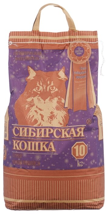 Комкующийся наполнитель Сибирская кошка Супер 10 кг — купить по выгодной цене на Яндекс.Маркете