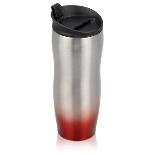Термокружка Oasis Порт Дю Солей, 0.45 л серебристый/красный