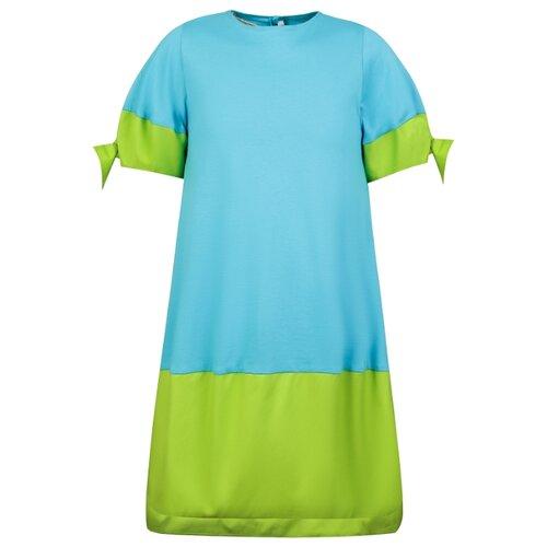 Платье Il Gufo размер 98, голубой