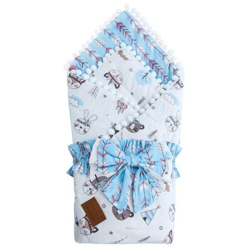 Фото - Одеяло на выписку AmaroBaby Bon Bon Индейцы конверты на выписку amarobaby одеяло на выписку bon bon индейцы