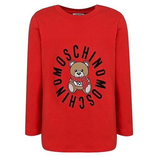 Купить Лонгслив MOSCHINO размер 68-74, красный, Футболки и рубашки
