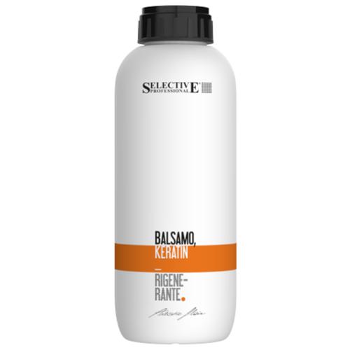 Selective Professional бальзам Artistic Flair Keratin Rigenerante Кератиновый для восстановления поврежденных волос, 1000 мл