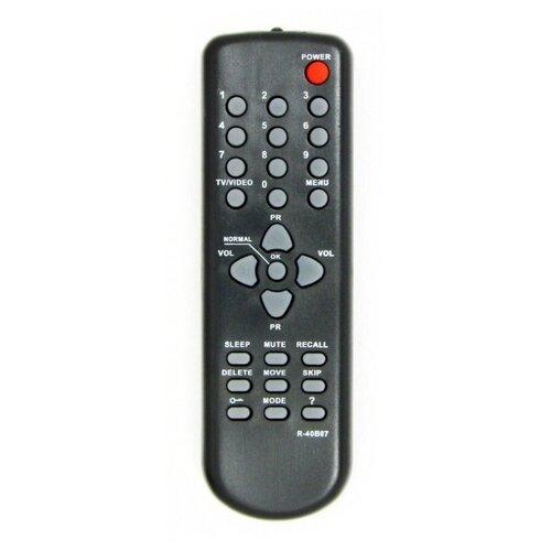 Пульт ДУ Huayu R-40B07 для телевизоров Daewoo 20Q1M/14Q2M/21Q3MT/14T1MT/20T1M/20Q3MT черный