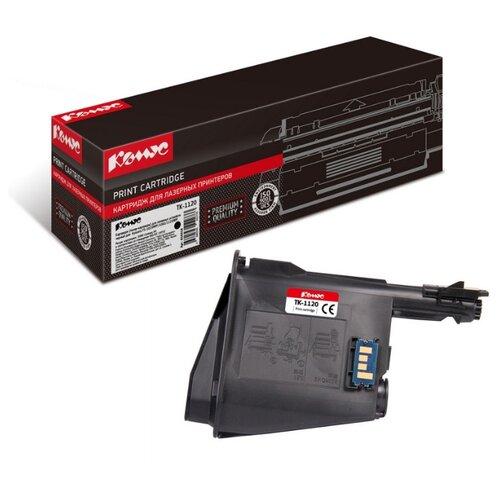 Фото - Картридж лазерный Комус TK-1120 черный, для Kyocera FS-1060DN/1025MFP картридж лазерный комус tk 580k черный для kyocera fs c5150dn