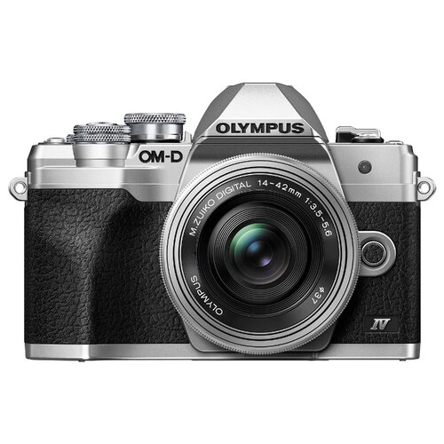 Фотоаппарат Olympus OM-D E-M10 Mark IV Kit серебристый M.Zuiko Digital ED 14-42mm f/3.5-5.6 EZ