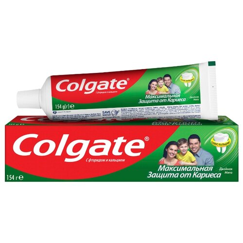 Купить Зубная паста Colgate Максимальная защита от кариеса Двойная мята, 100 мл