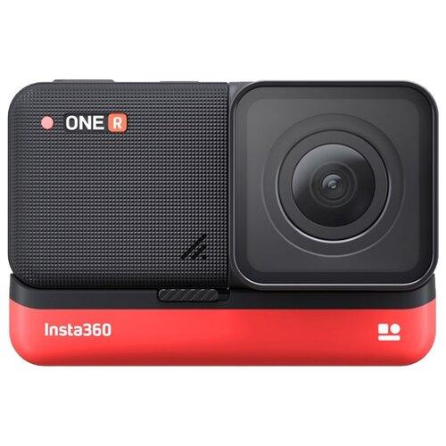 Купить Экшн-камера Insta360 One R 4K черный/красный