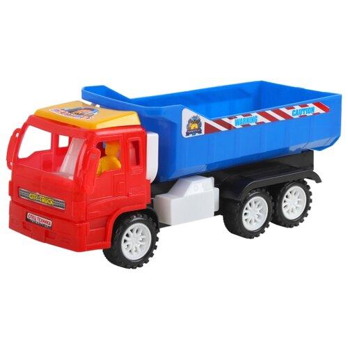 Купить Грузовик Джамбо Тойз JB5300114 28 см красный/синий, Машинки и техника